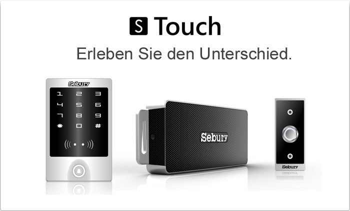 elektronische zutrittskontrolle schlie anlage von sebury f r rfid transponder fingerprint oder code. Black Bedroom Furniture Sets. Home Design Ideas