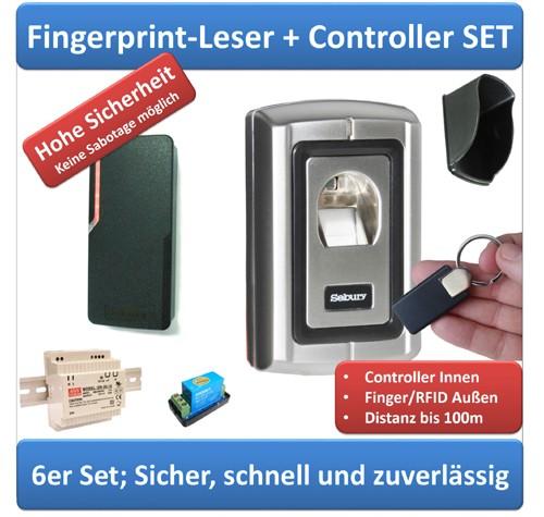 Zutrittssystem Fingerprint + Türcontroller