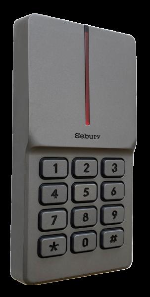 Vollmetall Codeschloss mit RFID
