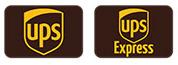Logo 'Versand mit UPS/DPD'